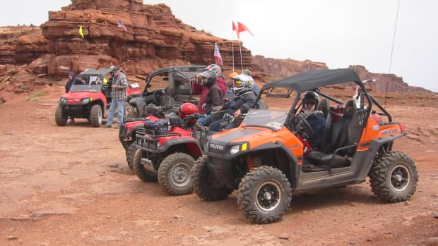 The Polaris Ranger RZR S is our choice for riding the trails in Southern Utah.