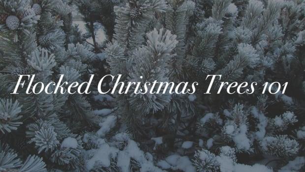 flocked-christmas-trees