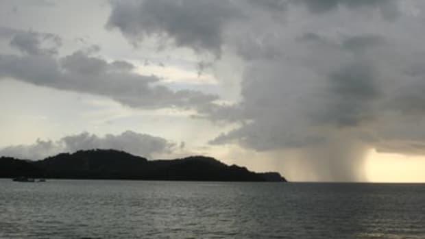 from Playa Panama