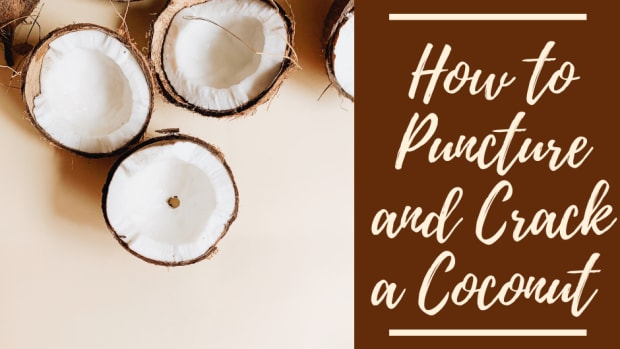 how-to-open-drain-and-crack-a-coconut-safely