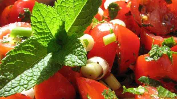 tomato-mint-salad