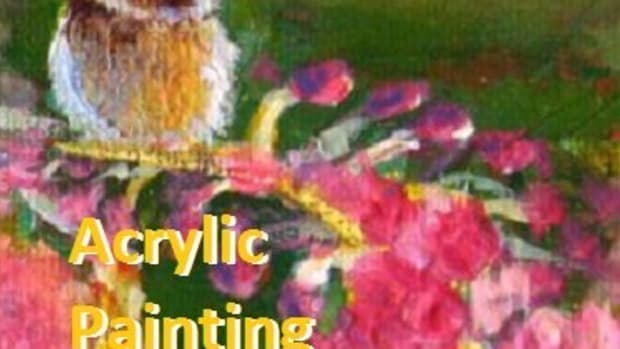 6 common acrylic painting techniques.