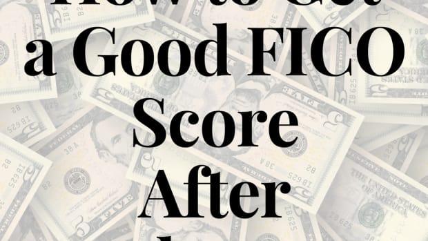 如何达到 - 一个良好的FICO  - 分数破产