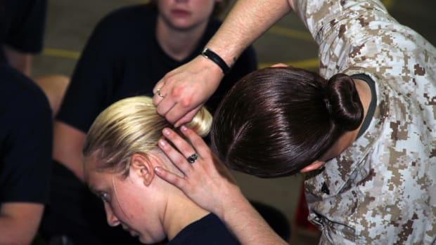 military-sock-bun-method
