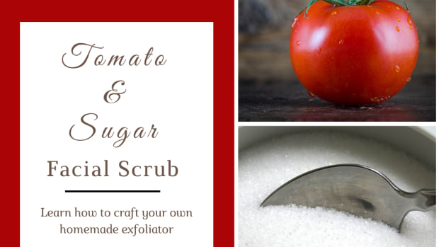 how-to-how-to-make-sugar-facial-scrub-with-a-tomato