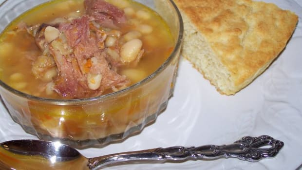 great-northern-bean-soup-and-corn-bread-recipe
