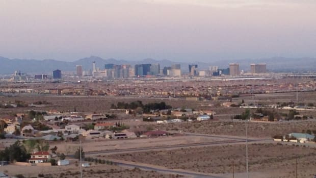 Las Vegas Strip from the Southwest Side