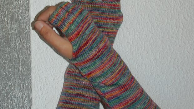 how-to-knit-easy-armwarmers