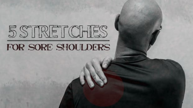 cure-sore-shoulder-blades-with-stretches