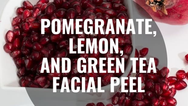 pomegranate-lemon-and-green-tea-facial-peel
