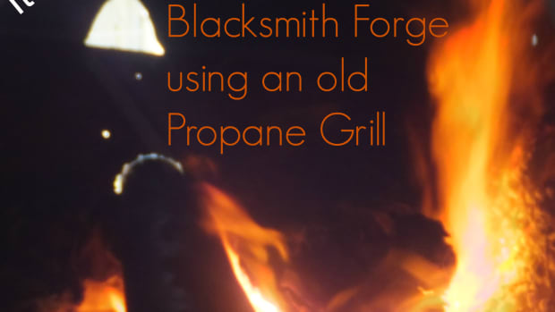 Build a Blacksmith Forge Using an old propane Grill