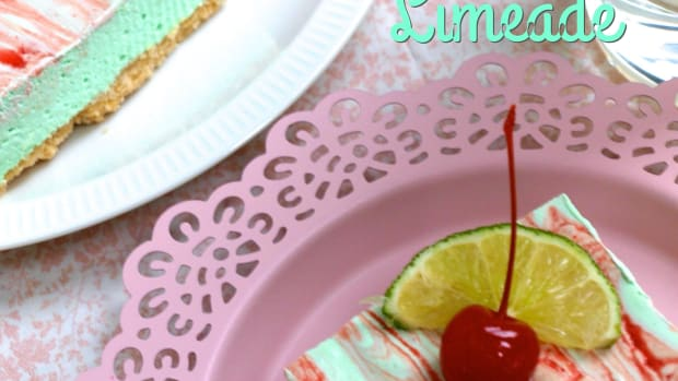 no-bake-cherry-limeade-cheesecake-squares
