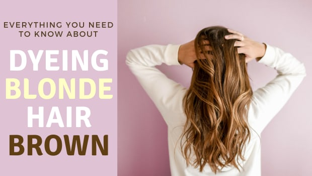 how-to-dye-blonde-hair-brown