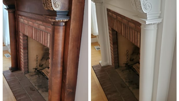 tips-for-painting-a-fireplace-mantel
