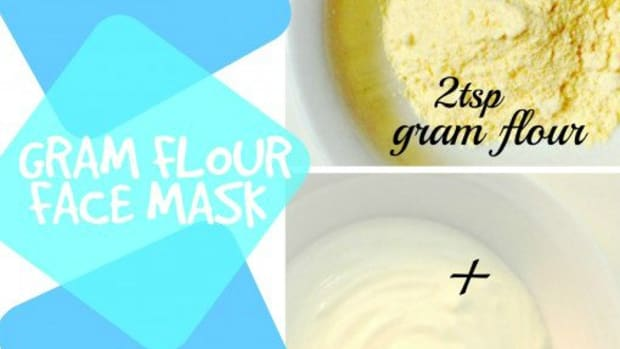 top-3-gram-flour-face-mask-recipes-for-beautiful-skin