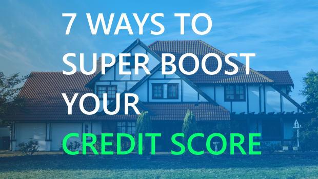 前十大最简单的方式 - 超级升压 - 您的信用分数 - 快速