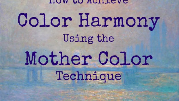 How to achieve color harmony using the mother color technique.