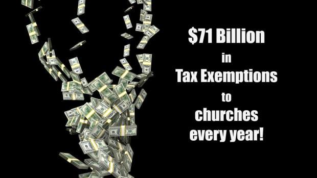 应该 - 教堂 - 税收豁免