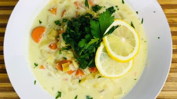 vegan-avgolemono-soup
