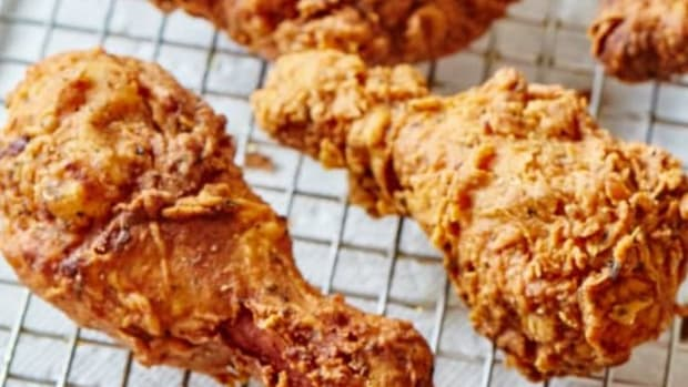 frying-chicken-with-less-oil-filipino-style