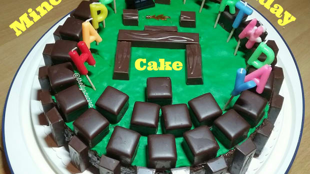 how-to-make-minecraft-birthday-cake