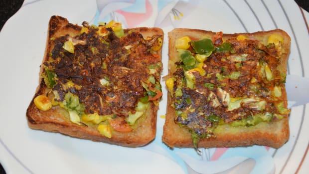 how-to-make-open-bread-sandwich-or-bread-uttapam