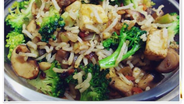tofu-mushroom-broccoli-fried-rice