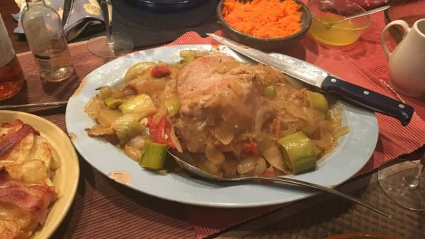 french-pork-loin-sauted-with-sage-leeks-and-rosemary-recipe