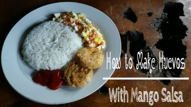 how-to-make-huevos-with-mango-salsa-mexican-inspired-breakfast-dish