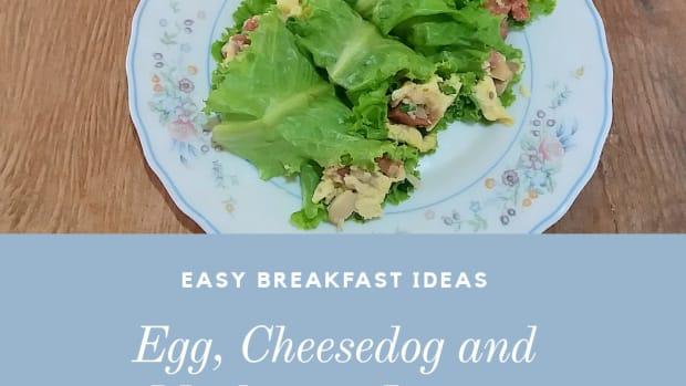 easy-breakfast-ideas-egg-cheesedog-and-mushroom-lettuce-wrap