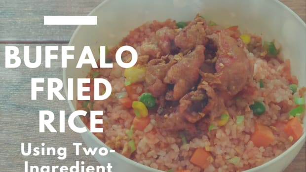 how-to-make-buffalo-fried-rice-using-two-ingredient-buffalo-sauce