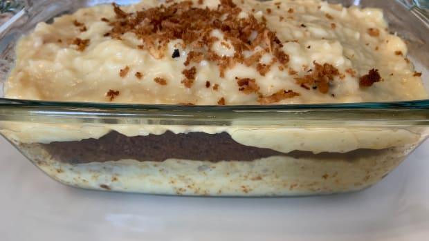 Honey Coconut Pudding Cake 2