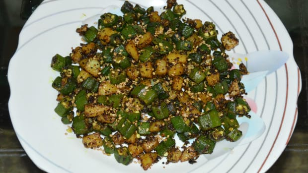 okra-and-potato-hash-recipe
