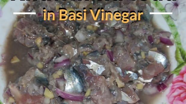 how-to-make-kilawin-na-isda-in-basi-vinegar
