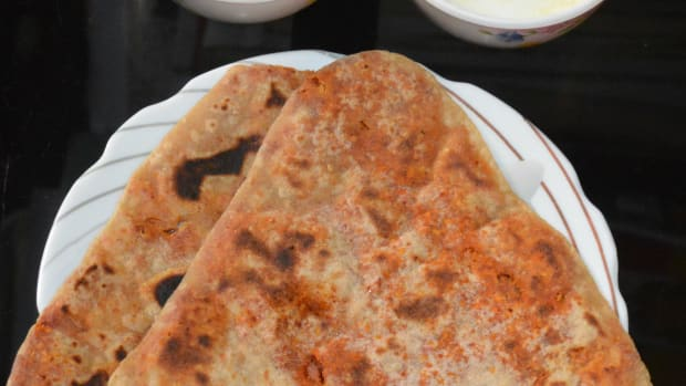 how-to-make-spicy-paratha-wheat-flour-flatbread