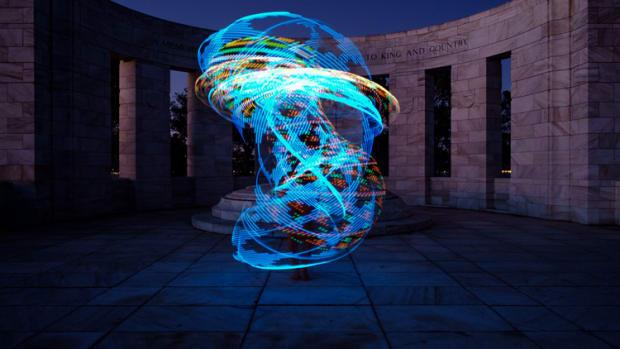 light-show-using-a-lighted-hoop