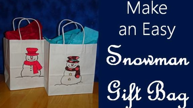 how-to-make-a-snowman-gift-bag