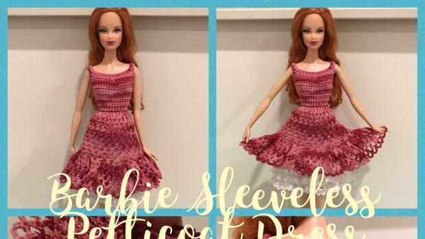 barbie-sleeveless-petticoat-dress-free-crochet-pattern