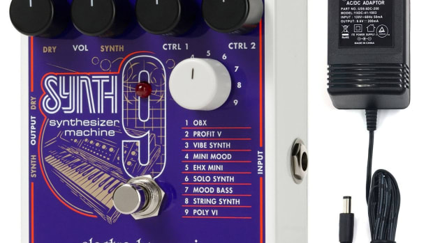 product-review-electro-harmonix-synth-9-synthesizer-machine-effects-pedal