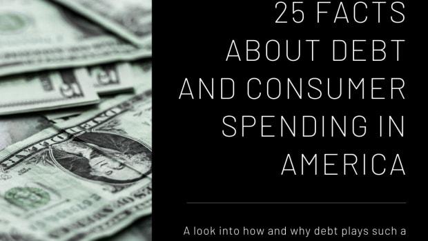 25个事实 - 关于消费者的消费和债务