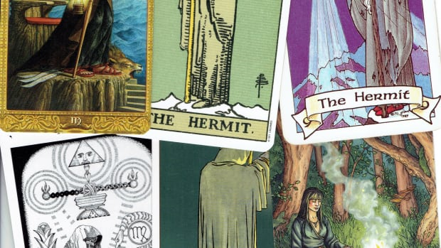 the-hermit-in-tarot