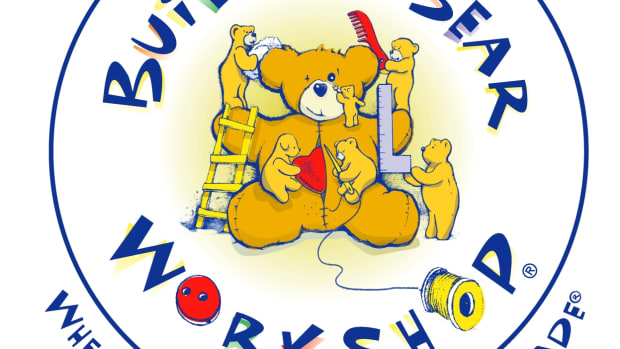 Build-A-Bear Workshop's original logo.