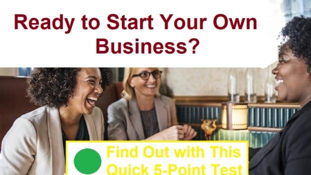是 - 您即时开始 - 您自己的业务 - 查找 - 这 - 快速5点测试