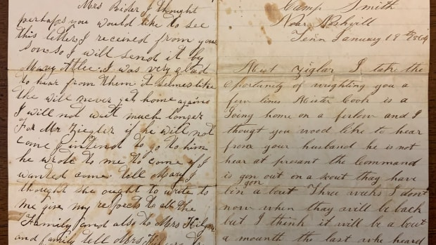 two-civil-war-letters-and-the-stories-they-tell