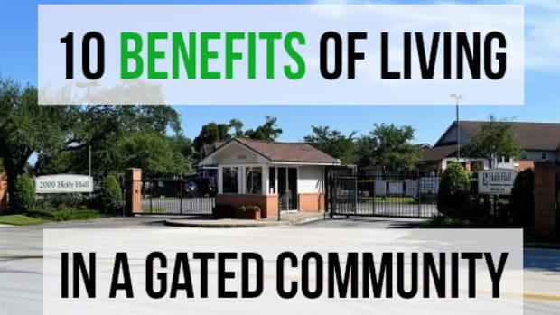 居住的优势 - 一个门控社区