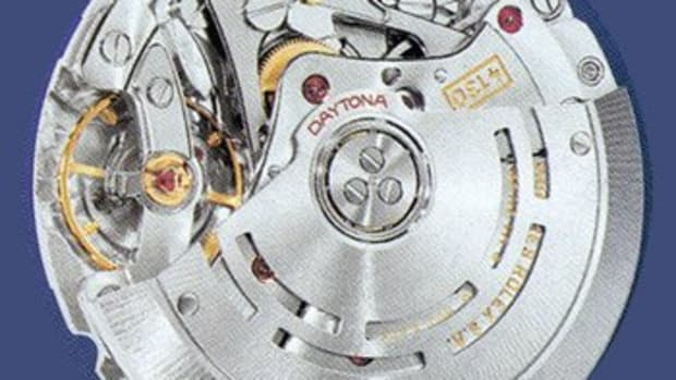 Rolex 4130 movement, used in the Daytona since 2000