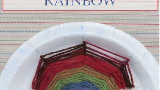 diy-childrens-craft-how-to-make-a-paper-plate-rainbow-with-yarn