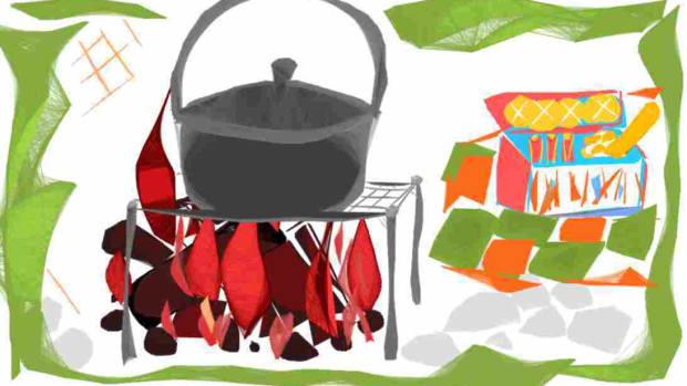 family-around-the-campfire
