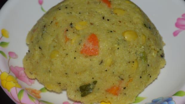 healthy-breakfast-semolina-and-hyacinth-beans-porridgeupma-recipe