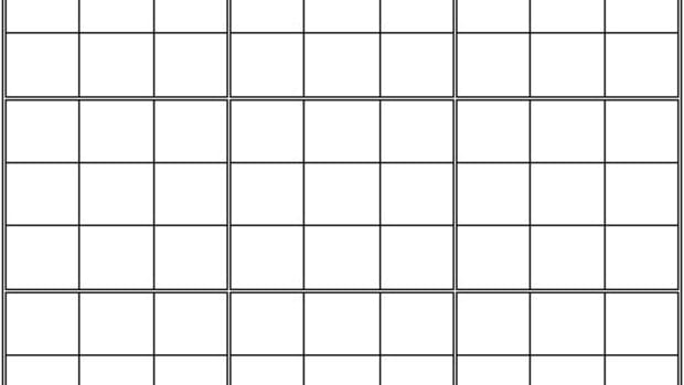 blank-sudoku-grid